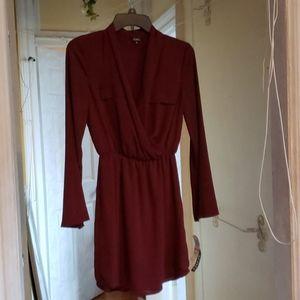 NWT Burgundy Professional Dress